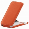 Чехол книжка для Lenovo S820 UpCase Оранжевый