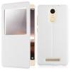 Чехол книжка для Xiaomi Redmi Note 3 Чехольчикофф с окном Белый