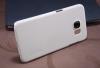 Чехол накладка для Samsung Galaxy S6 Nillkin Super frosted shield белый