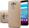 Чехол накладка для LG G4s H736 Nillkin Super Frosted Shield Золотой