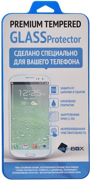 Skinbox Защитное стекло для Huawei Ascend G6 0.33 мм 2.5D