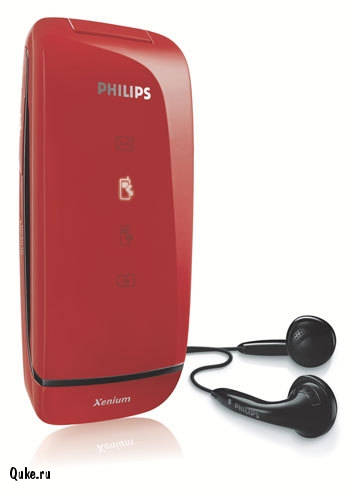 Philips Xenium 9@9Q Chick red