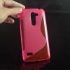 Силиконовый чехол для LG Ray X190 Чехольчикофф Розовый