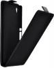Чехол книжка для Sony Xperia M4 Aqua (E2303) Skinbox Flip Case черный