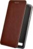 Чехол книжка для LG Max x155 Skinbox Lux Коричневый