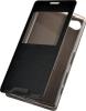 Чехол книжка для Sony Xperia Z5 Compact Skinbox Lux AW Черный