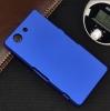 Чехол накладка для Sony Xperia Z3 Compact D5803 Skinbox Shield 4People Синий