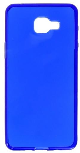 TPU Силиконовый чехол для Samsung Galaxy A3 (2016) SM-A310 1мм Синий глянцевый