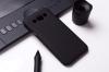 Чехол накладка для Samsung Galaxy E5 SM-E500HD Skinbox Shield 4People Черный