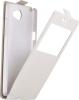 Чехол книжка для LG Max X155 Skinbox AW Белый