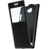 Чехол книжка для LG Max X155 Skinbox AW Черный