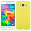 Чехол накладка для Samsung Galaxy Grand Prime Value Edition SM-G531H Skinbox Shield 4People Желтый