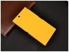 Чехол накладка для Sony Xperia Z Ultra C6833 Skinbox Shield 4People Желтый