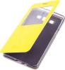 Чехол книжка для Samsung Galaxy A7 SM-A700FD Skinbox Lux AW Желтый