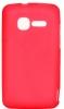 Силиконовый чехол для Alcatel One Touch Pixi 4007D TPU Малиновый матовый