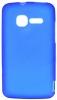 Силиконовый чехол для Alcatel One Touch Pixi 4007D TPU Синий матовый