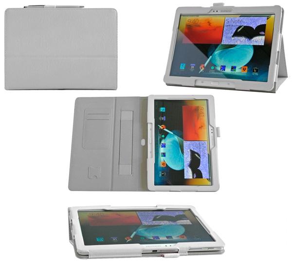 Skinbox для Samsung Galaxy Note 10.1 2014 Edition P6000 Standard with hand holder Белый