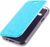 Чехол книжка для Samsung Galaxy J1 SM-J100FN Skinbox Lux Синий