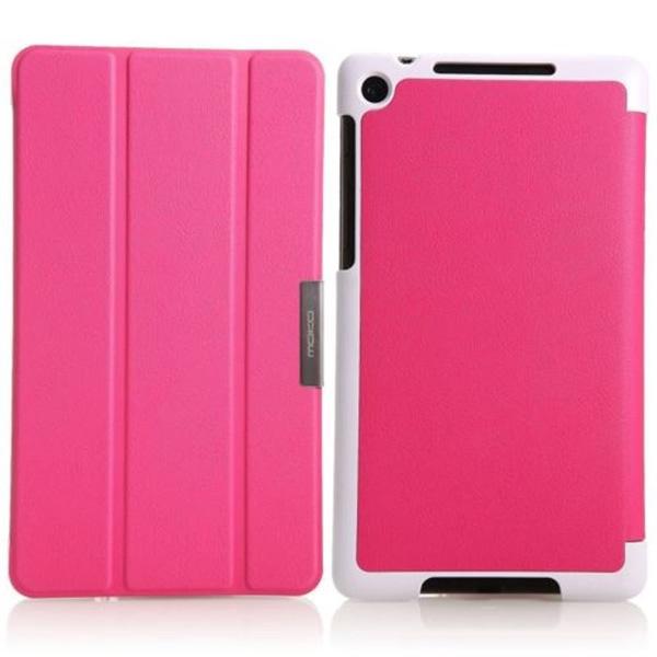 Skinbox для Asus Nexus 7 (2013) Smart Clips Розовый
