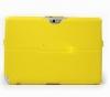 Чехол книжка для Samsung Galaxy Note 10.1 N8000 Skinbox Armor Желтый