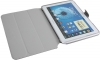 Чехол книжка для Samsung Galaxy Note 10.1 N8000 Skinbox Slim With Pictures Earth Темно Серый