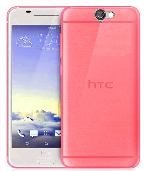 TPU Силиконовый чехол для HTC One A9 Малиновый матовый