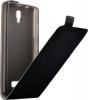 Чехол книжка для Lenovo A2010 Skinbox Черный