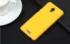 Чехол накладка для Lenovo S660 Skinbox Shield 4People Желтый