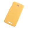 Чехол накладка для HTC Desire 510 Skinbox Shield 4People Желтый