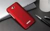 Чехол накладка для HTC Desire 616 Dual Sim Skinbox Shield 4People Красный