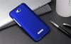 Чехол накладка для HTC Desire 616 Dual Sim Skinbox Shield 4People Синий