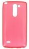 Силиконовый чехол для LG G3 Stylus D690 TPU 0.5мм Красный глянцевый