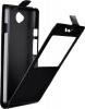 Чехол книжка для ZTE Blade Q lux 4G Skinbox Flip Slim AW Черный