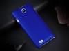Чехол накладка для ZTE V815W Skinbox Shield 4People Синий