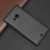 Чехол накладка для Microsoft Lumia 535 Dual Sim Skinbox Shield 4People Черный