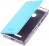 Чехол книжка для Microsoft Lumia 435 Skinbox Lux Синий