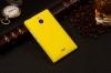 Чехол накладка для Nokia X2 Dual Sim Skinbox Shield 4People Желтый