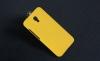Чехол накладка для Alcatel Idol 2 6037Y Skinbox Shield 4People Желтый