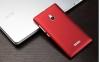 Чехол накладка для Nokia XL Dual Sim Skinbox Shield 4People Красный