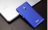 Чехол накладка для Nokia XL Dual Sim Skinbox Shield 4People Синий