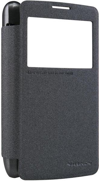 Nillkin для LG L60 X145 Dual Sparkle Leather Case Черный