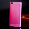 Чехол накладка для Xiaomi Mi Note Pro Чехольчикофф Алюминиевый Розовый