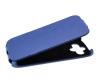 Чехол книжка для Samsung Galaxy Core Prime SM-G360H Armor Case Slim Синий флотер
