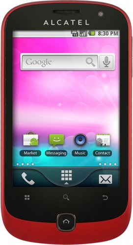 Alcatel OneTouch 990 Spicy Red