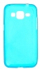 Силиконовый чехол для Samsung Galaxy Core Prime SM-G360H TPU 0.5мм Голубой глянцевый