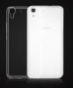 Силиконовый чехол для Huawei Ascend Y6 Skinbox Slim Silicone 4People Прозрачный