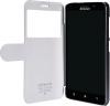 Чехол книжка для Lenovo A850 Nillkin Fresh Series Leather Case Черный