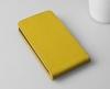 Чехол книжка для Sony Xperia E4G Skinbox Желтый