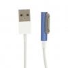 Кабель USB для Sony Xperia Z1 Z2 Z3 Z1mini Магнитный Синий