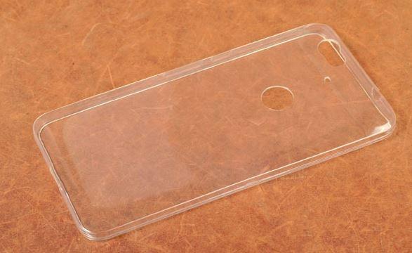 Skinbox Силиконовый чехол для Huawei Nexus 6P Slim Silicone 4People Прозрачный